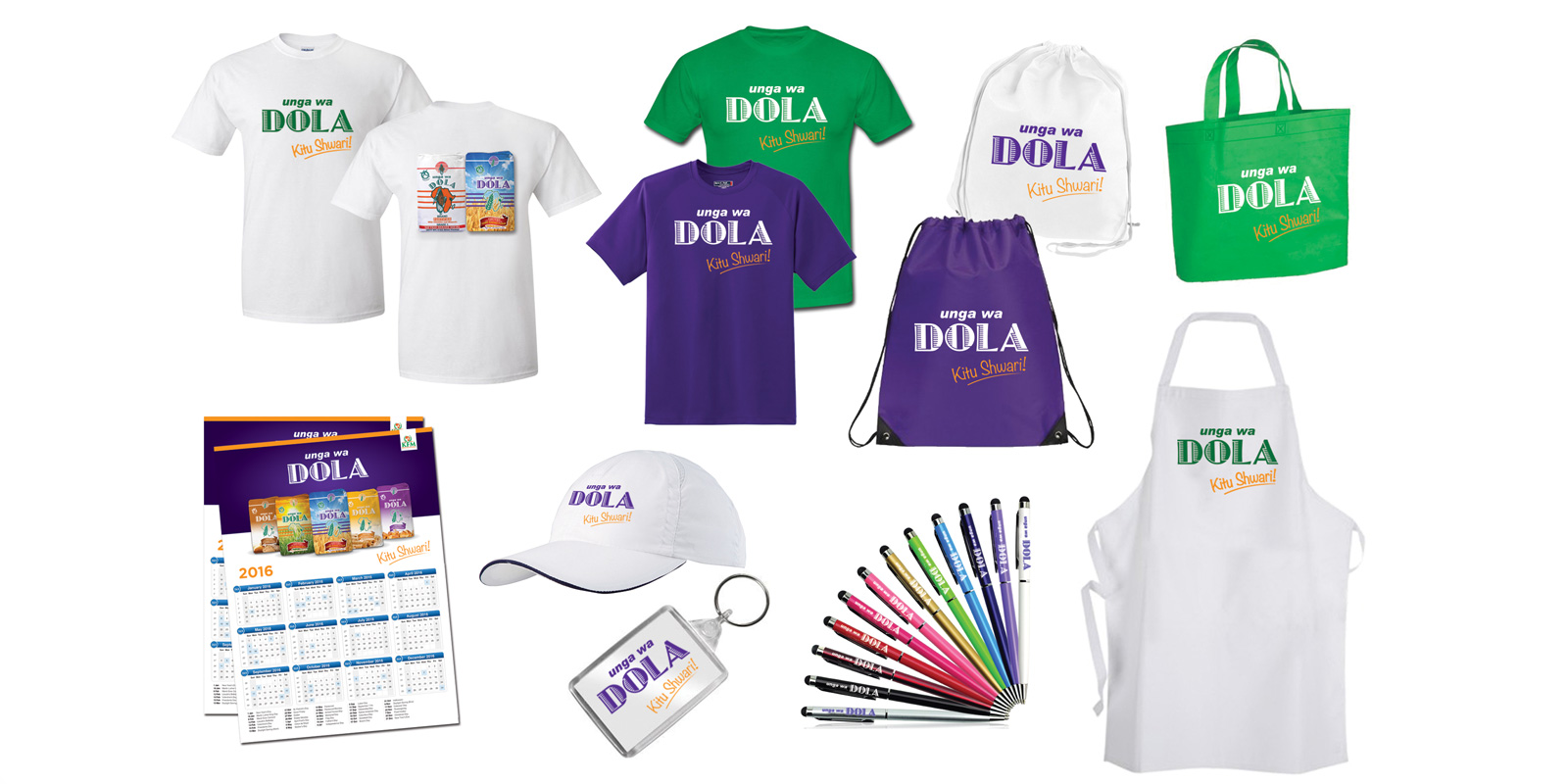 7-unga-wa-dola-promotional-items